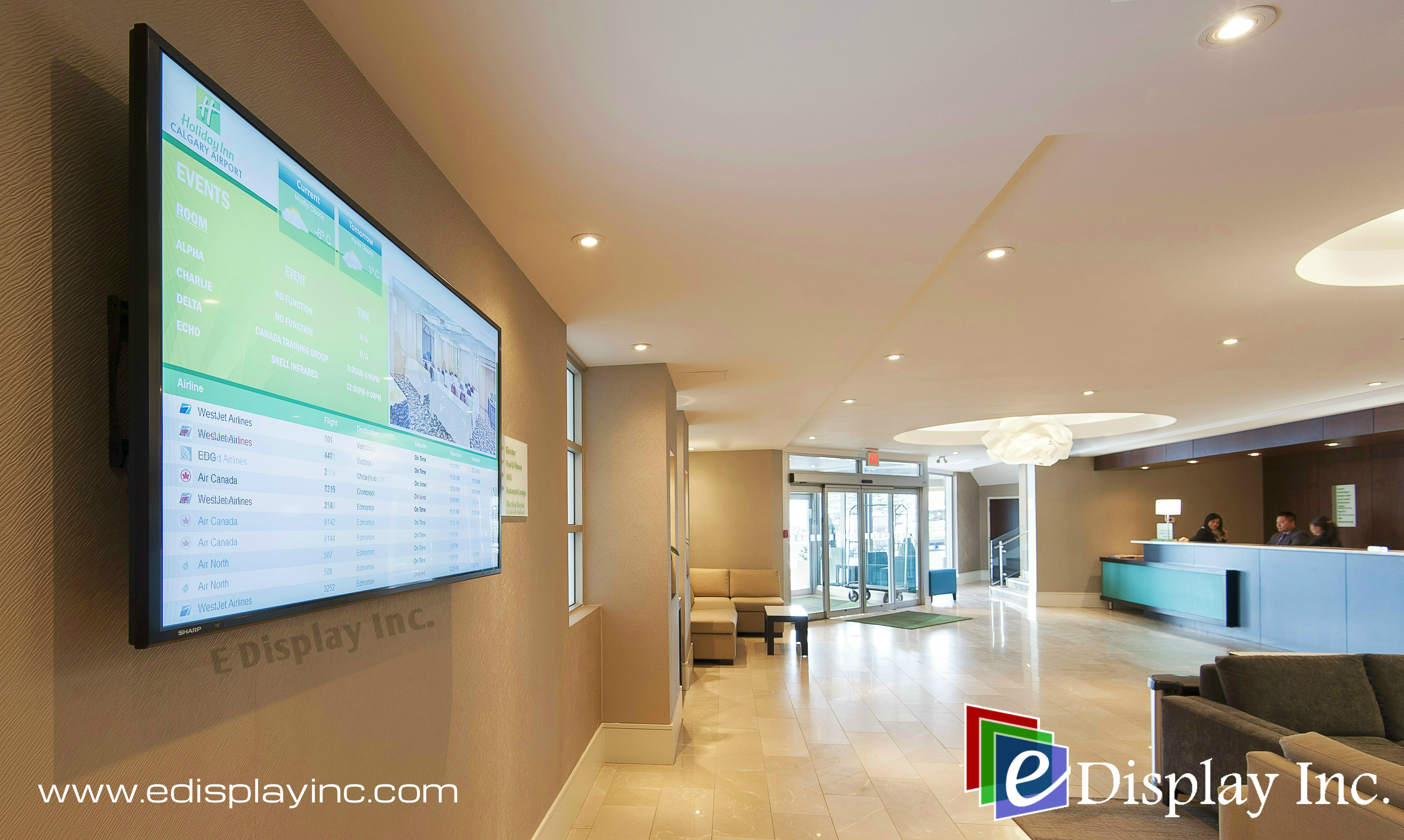 Hotel Digital Signage Case Study