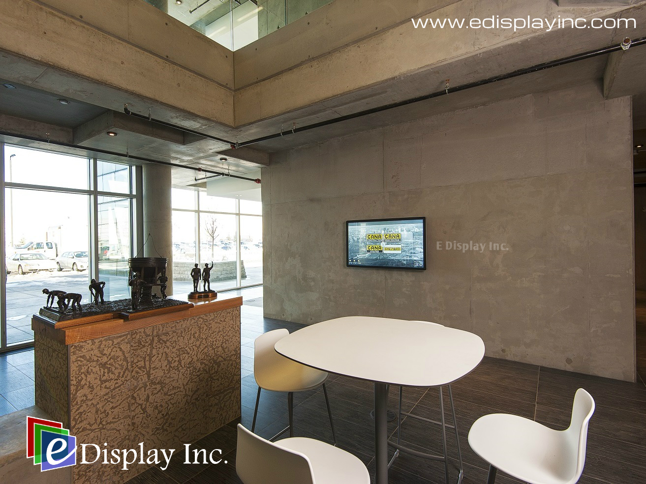 Interactive Touch Screen Solution for CANA by E Display 2