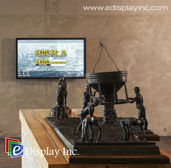 Interactive Touch Screen Solution for CANA by E Display 3