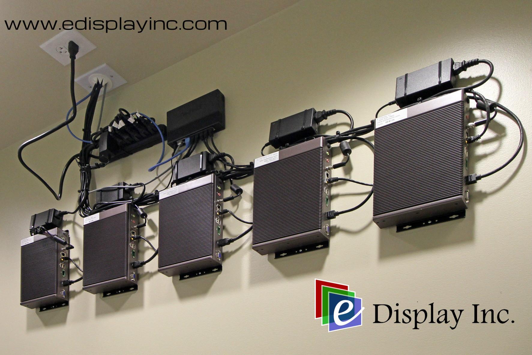 E Display Deploys Digital Menu Boards at Umi Sushi Express in Charlotte Premium Outlets in Charlotte, North Carolina.