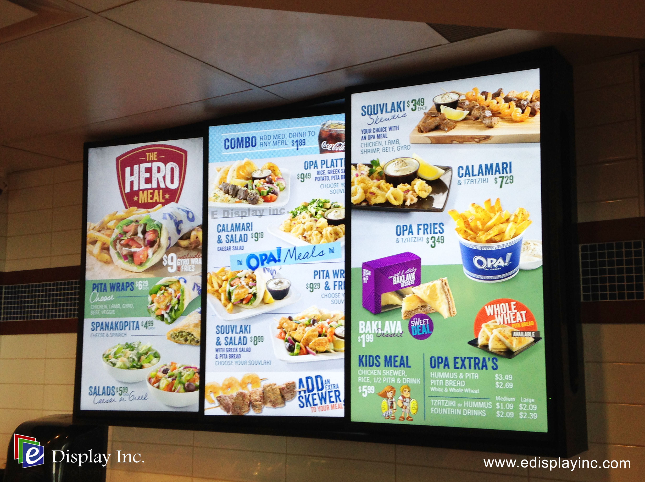 mcdonald s in store menu boards display the The best store bought vanilla ice cream  as the calories must be posted on display boards and printed menus  mcdonald's posts calories to the menu.